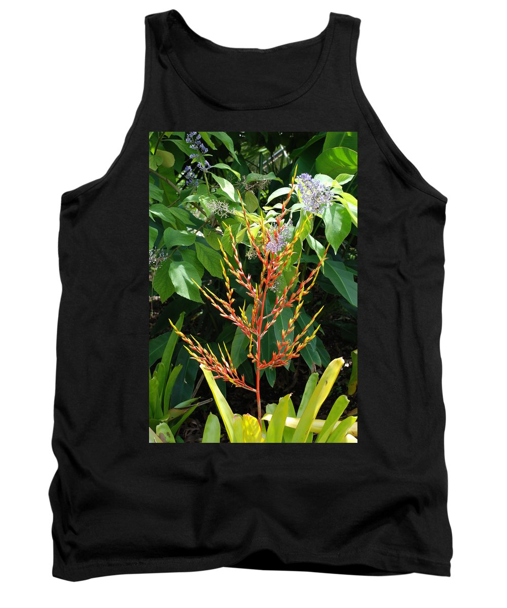 Macro Tank Top featuring the photograph Flower Plants by Rob Hans