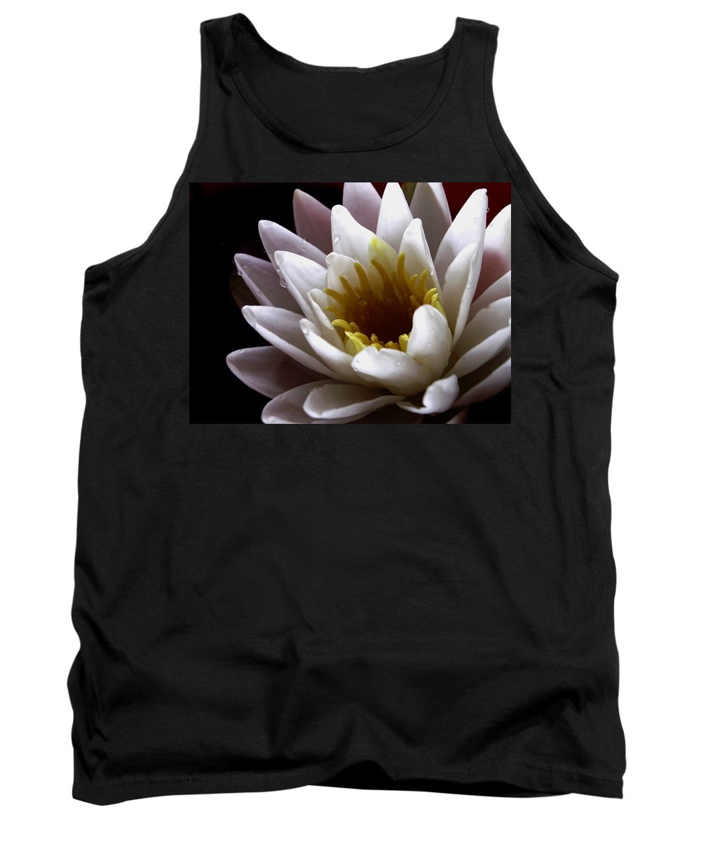Waterlily Tank Top featuring the photograph Flower Waterlily by Nancy Griswold
