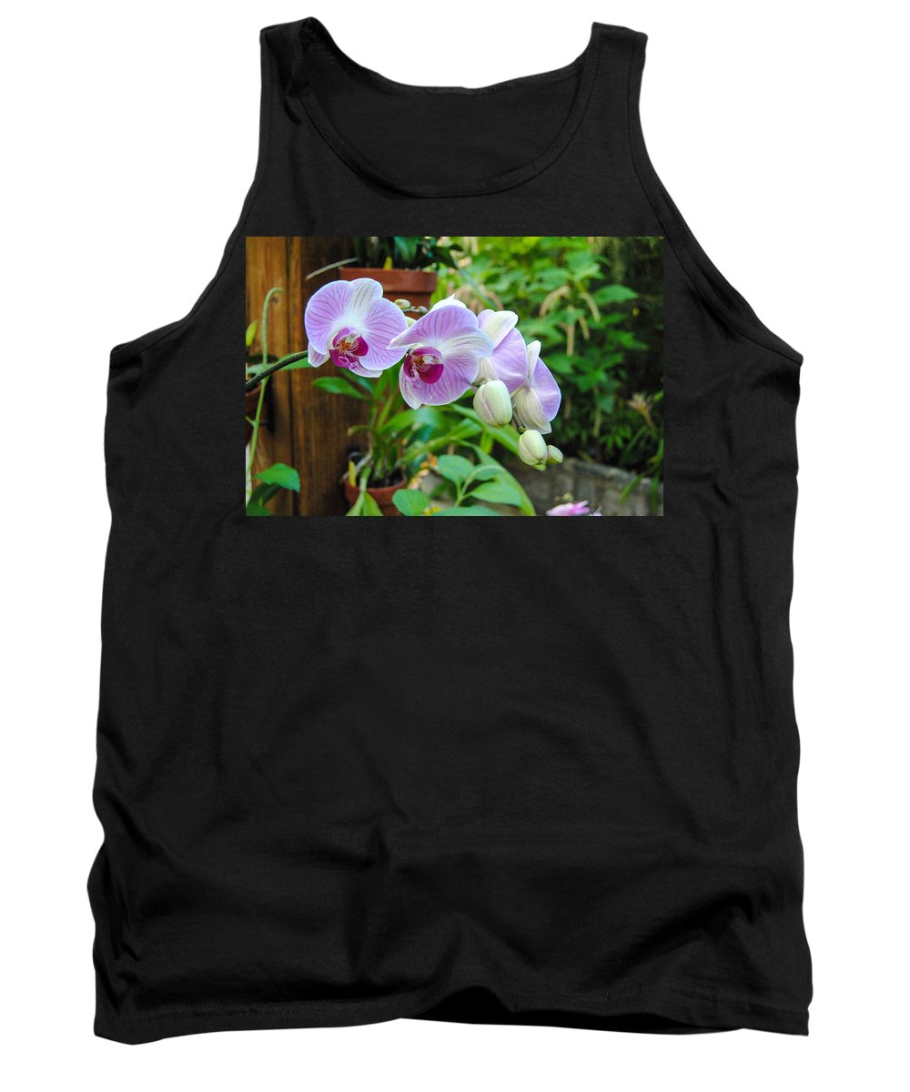 Flowers Tank Top featuring the photograph Flowers by George Fredericks