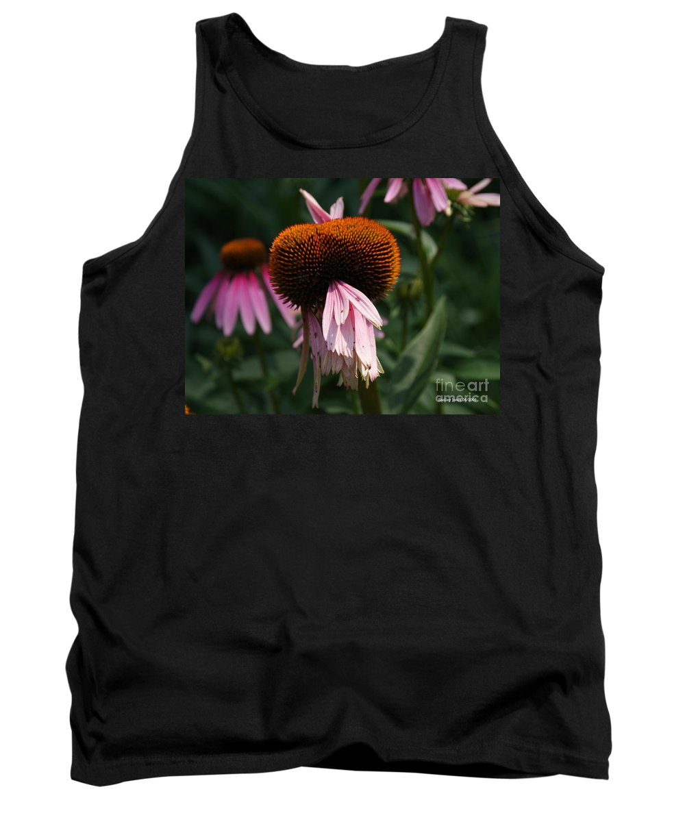 Floral Tank Top featuring the photograph Fly Eyes by Shelley Jones