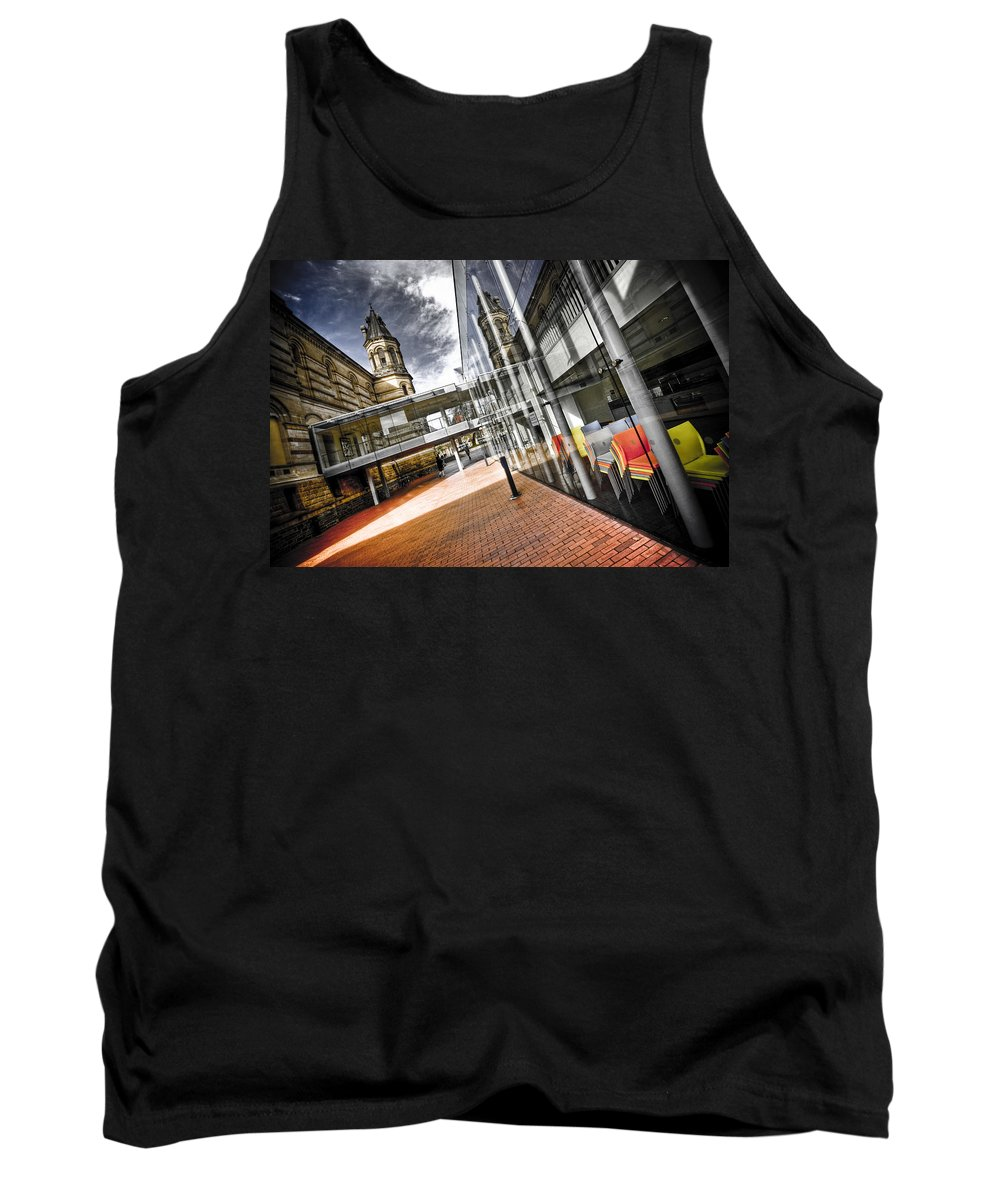 Flyover Tank Top featuring the photograph Flyover by Wayne Sherriff