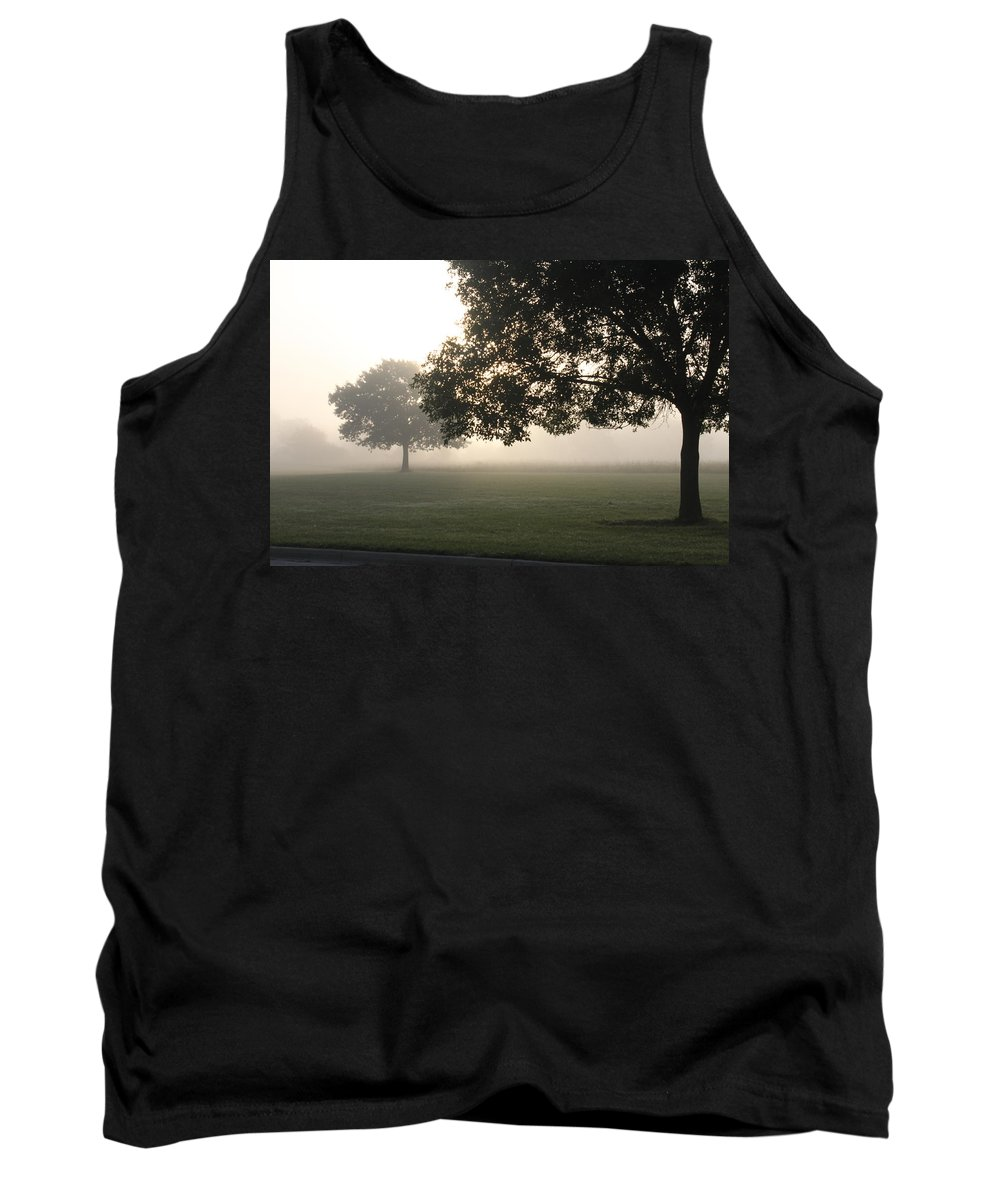 Fog Tank Top featuring the photograph Foggy Morning by Lauri Novak