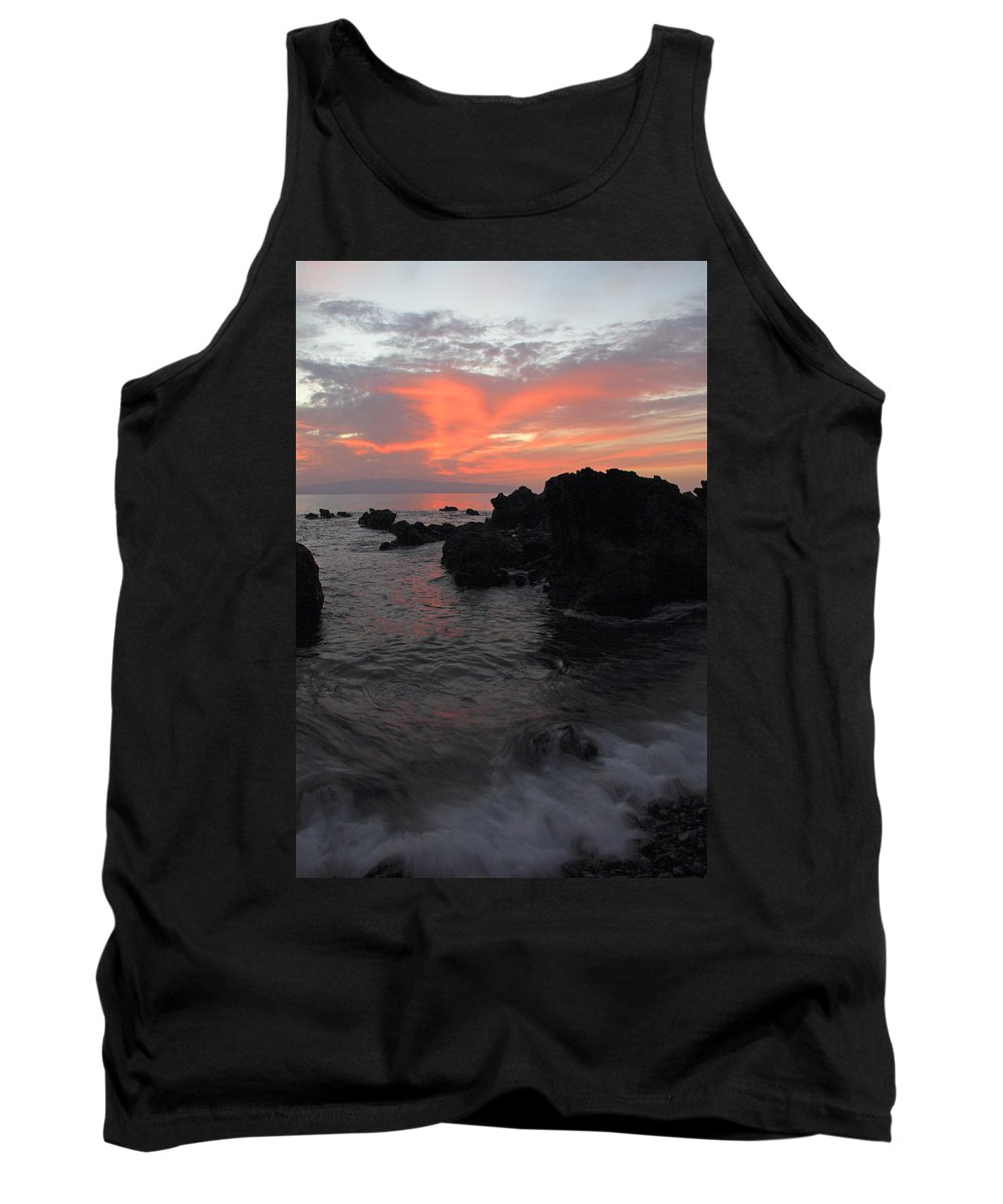 Seascape Tank Top featuring the photograph Fonsalia Red by Phil Crean
