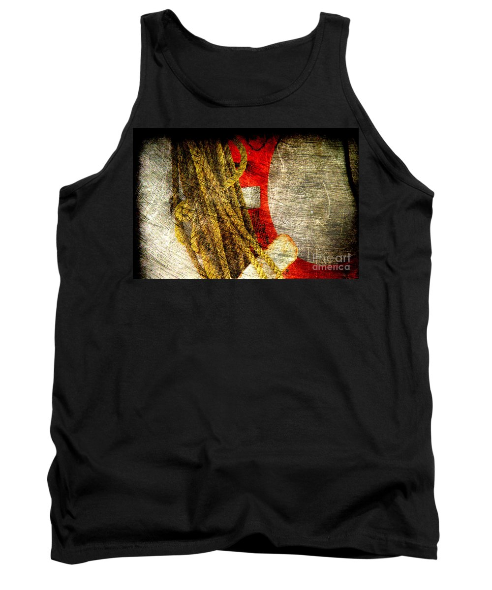 Safety Tank Top featuring the photograph For Your Safety by Susanne Van Hulst