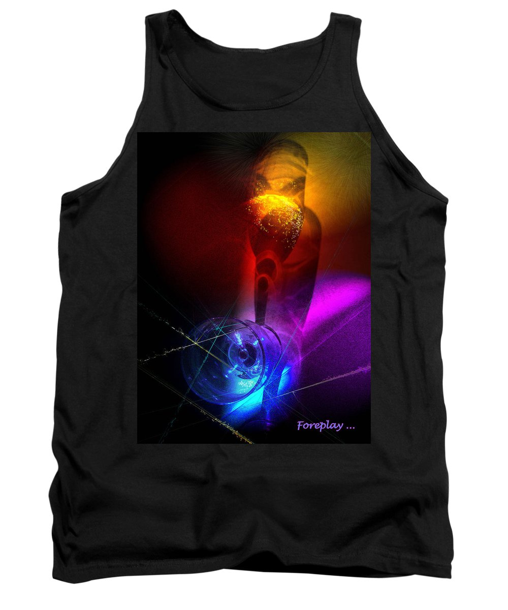 Fantasy Tank Top featuring the photograph Foreplay by Miki De Goodaboom