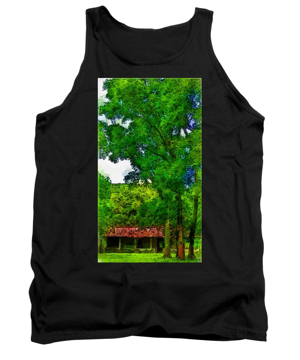 Forest Tank Top featuring the photograph Forest Home by Galeria Trompiz