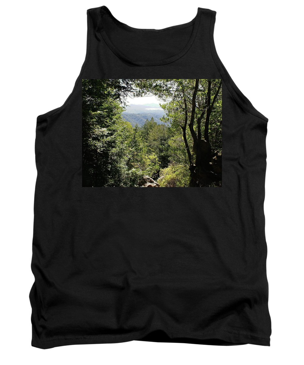 Mount Tamalpais Tank Top featuring the photograph Forest View From Mt Tamalpais by Ben Upham III