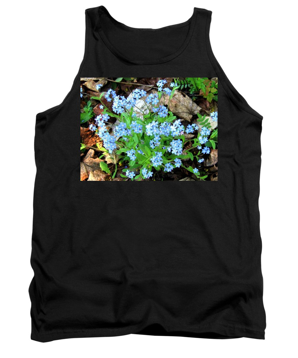Forget-me-not Tank Top featuring the photograph Forget-me-not by Will Borden