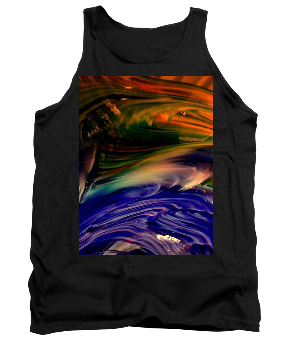Abstract Tank Top featuring the photograph Fox Point by Erin Rednour