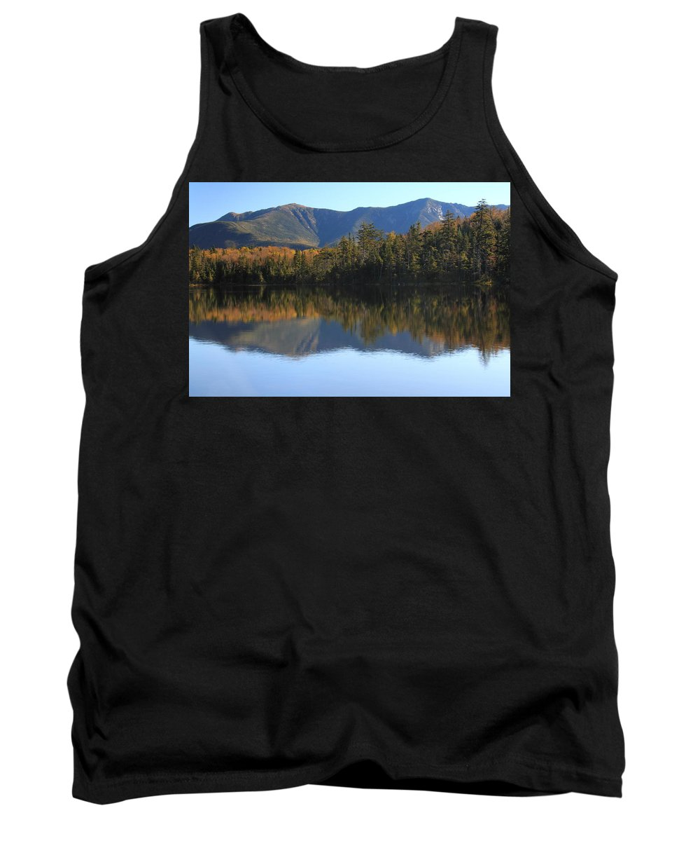 Franconia Ridge Tank Top featuring the photograph Franconia Ridge From Lonesome Lake by Roupen Baker
