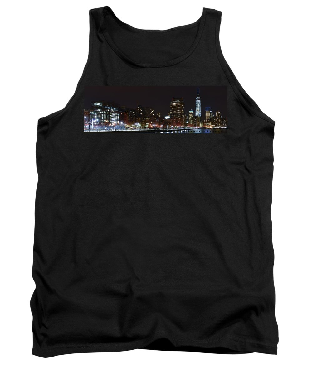 Freedom Tower Tank Top featuring the photograph Freedom Skyline by Theodore Jones