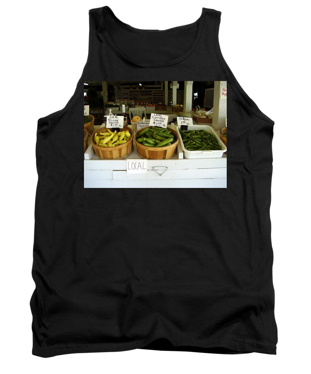 Fresh Produce Tank Top featuring the photograph Fresh Produce by Flavia Westerwelle