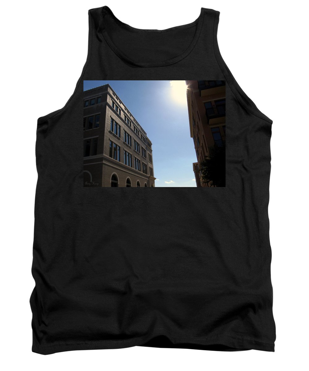 Frisco Square Tank Top featuring the photograph Frisco Square by Amy Hosp