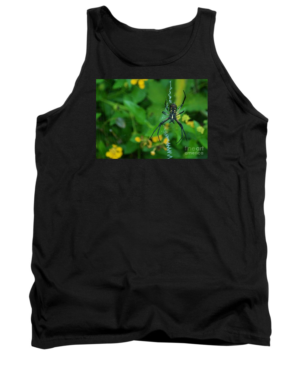 Caterpillar Tank Top featuring the photograph Yikes by Virginia Levasseur