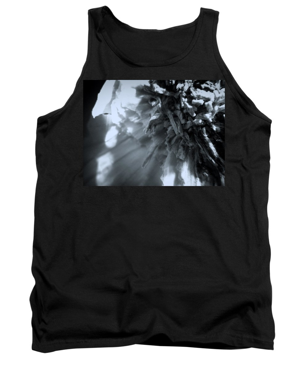 Garlic Tank Top featuring the photograph Garlic-up Close And Personal by Scott Wyatt