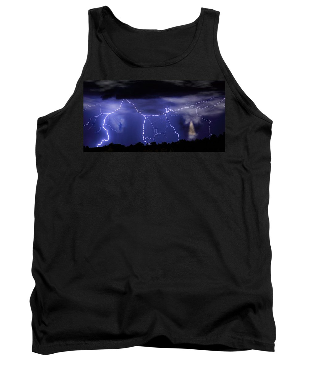 Religious Tank Top featuring the photograph Gates To Heaven by James BO Insogna