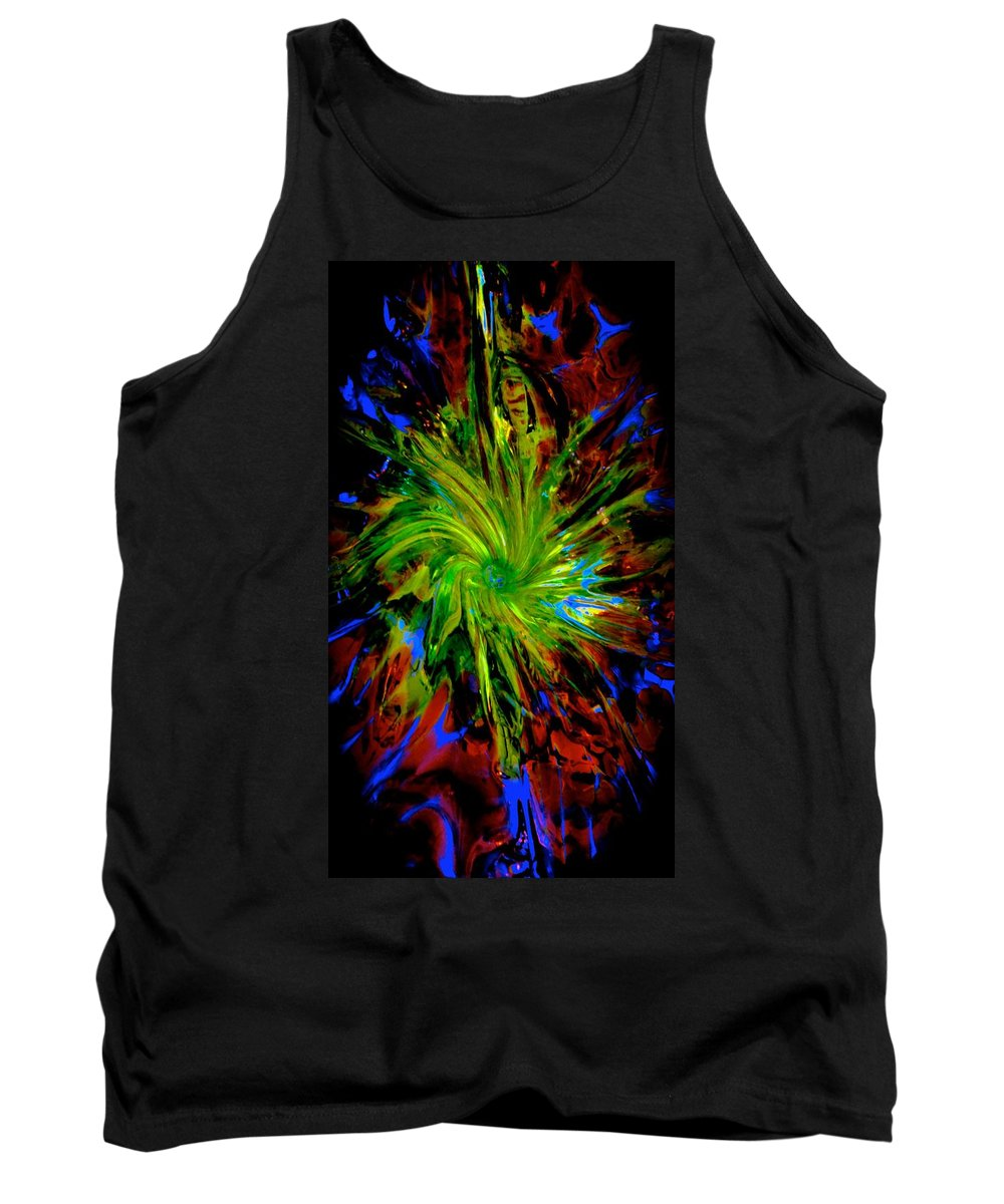 Magik Tank Top featuring the photograph Gathering Of Blue by Tim G Ross