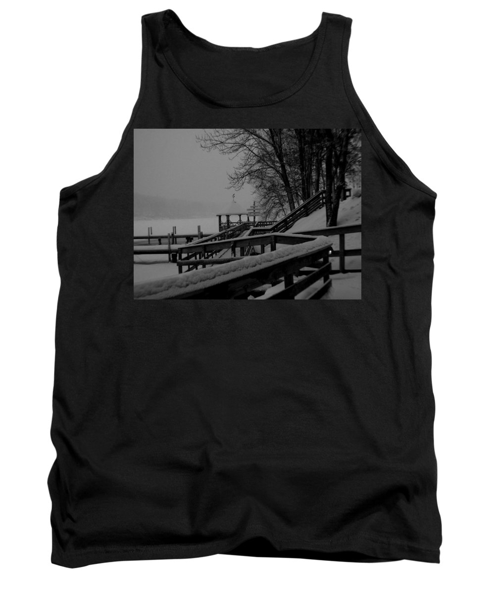 Meredith Nh Tank Top featuring the photograph Gazebo-2 by Michael Mooney