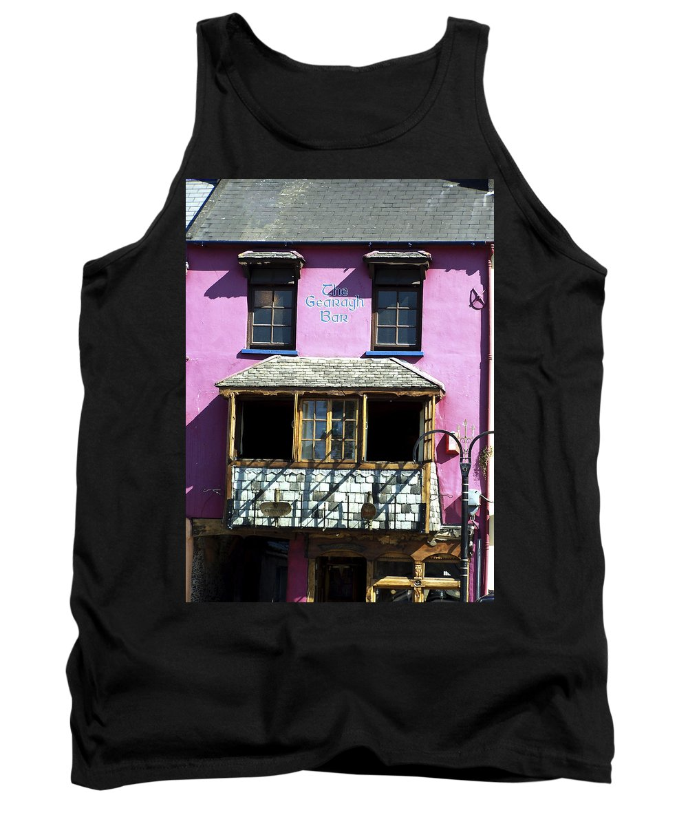 Irish Tank Top featuring the photograph Gearagh Pub In Macroom Ireland by Teresa Mucha