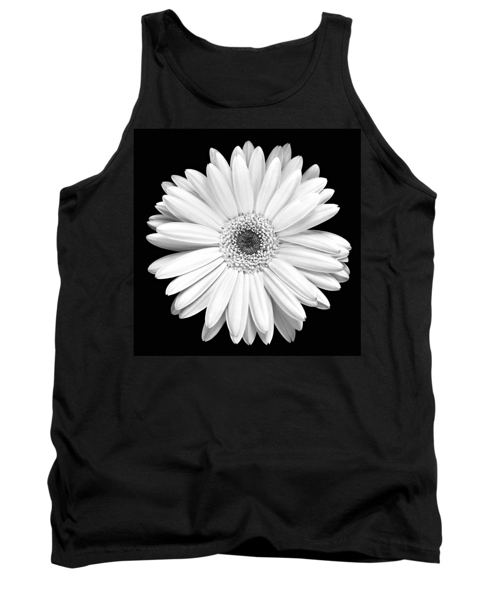 Gerber Tank Top featuring the photograph Single Gerbera Daisy by Marilyn Hunt