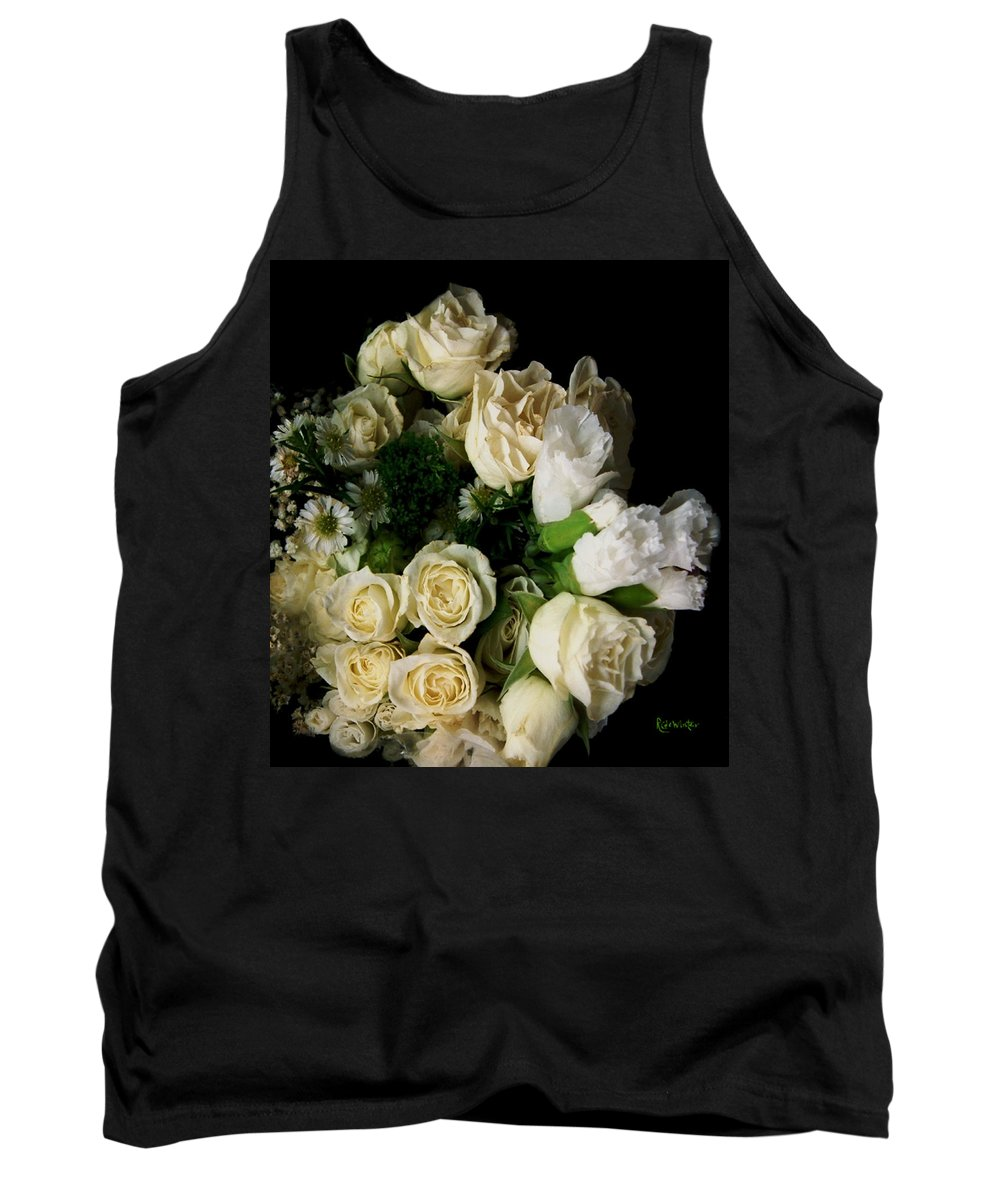 Roses Tank Top featuring the photograph Glamour by RC DeWinter