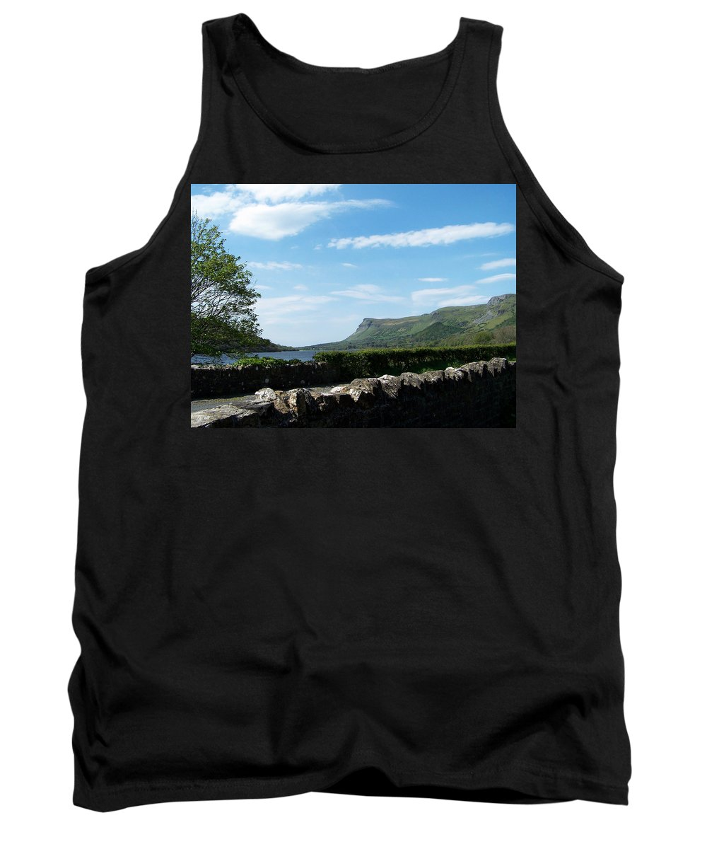 Irish Tank Top featuring the photograph Glencar Lake With View Of Benbulben Ireland by Teresa Mucha
