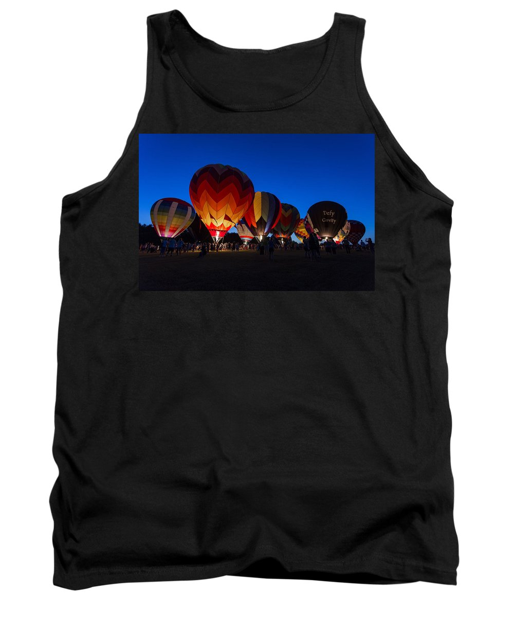 Www.cjschmit.com Tank Top featuring the photograph Glow 2015 by CJ Schmit