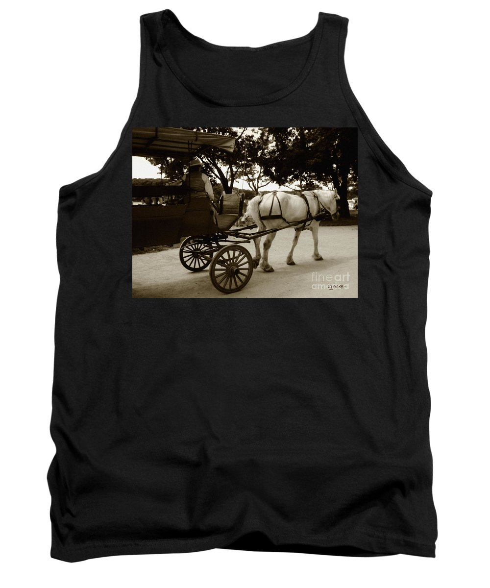 Driver Tank Top featuring the photograph Going Home by RC DeWinter