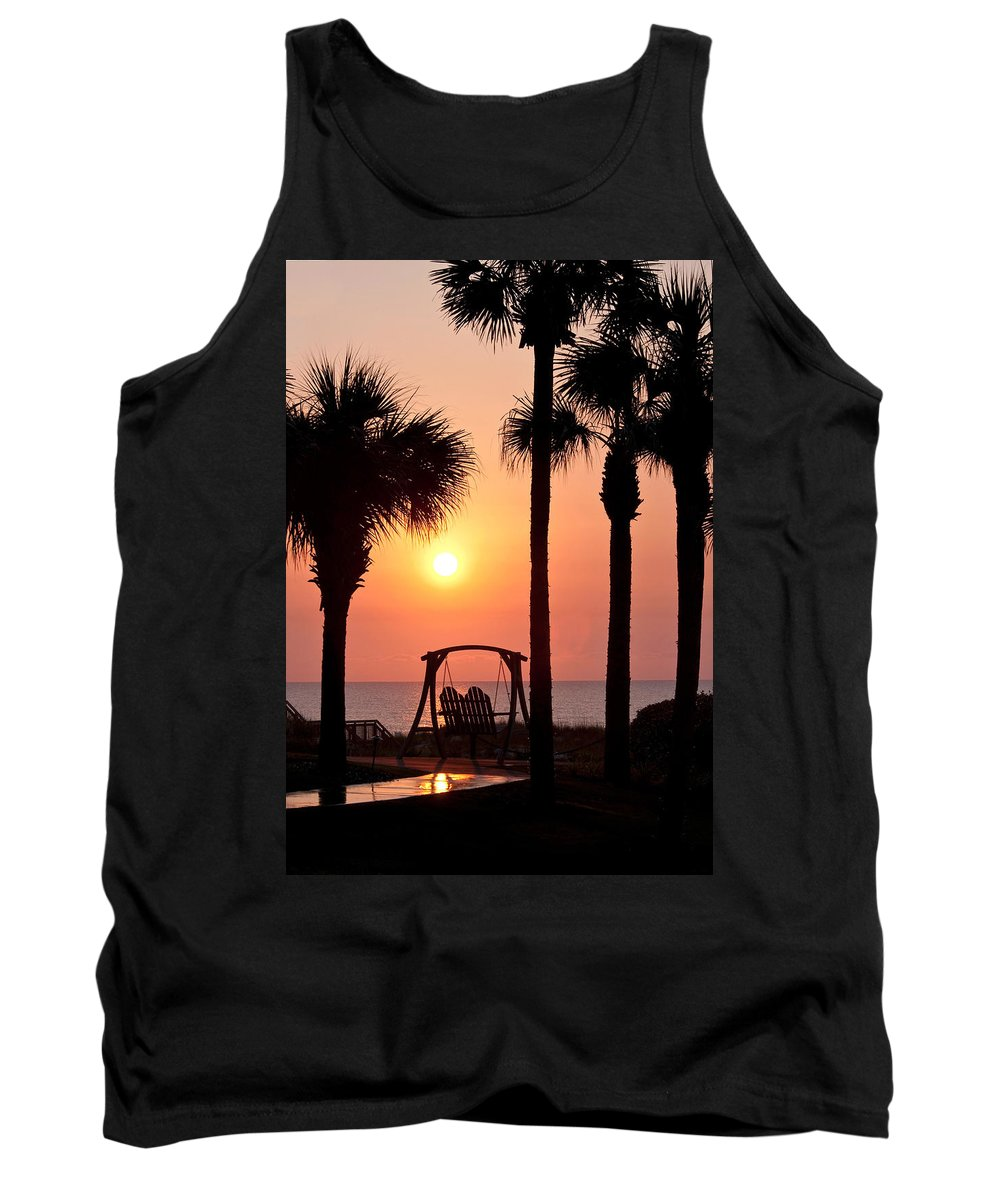 Sunrise Tank Top featuring the photograph Good Morning by Steven Sparks