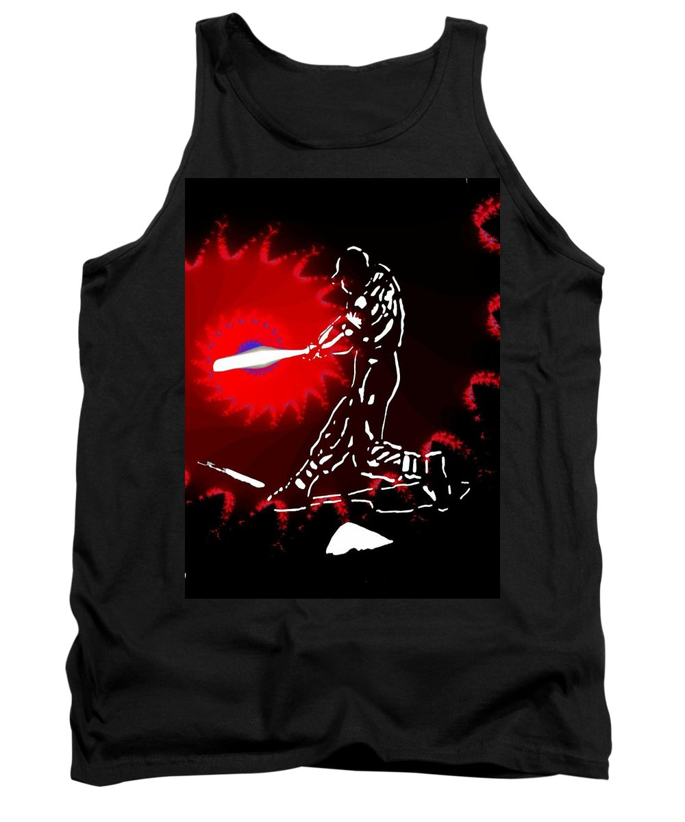 Baseball Tank Top featuring the photograph Grand Salami 2 by Tim Allen
