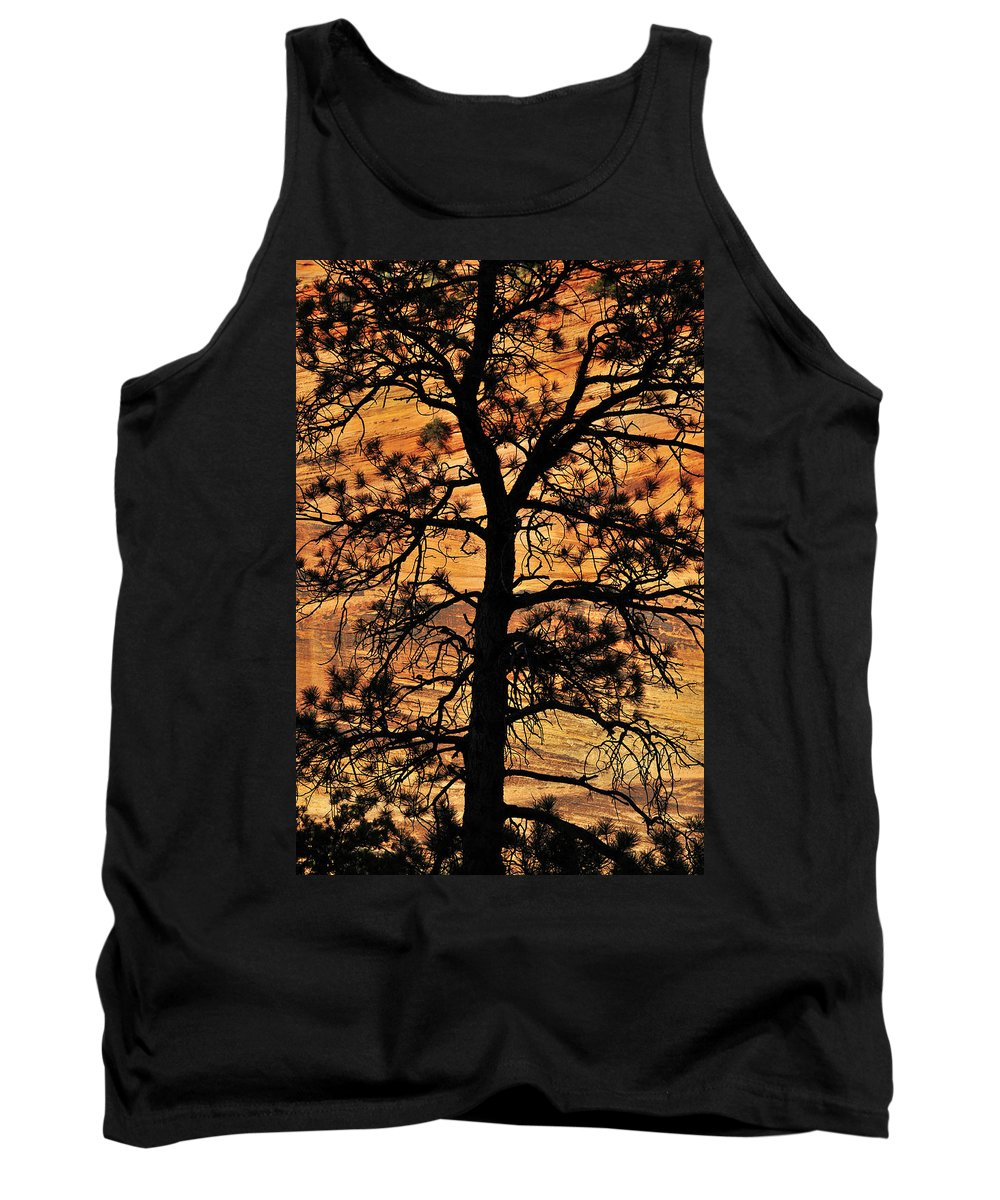 Grandfather Tank Top featuring the photograph Grandfather by Skip Hunt