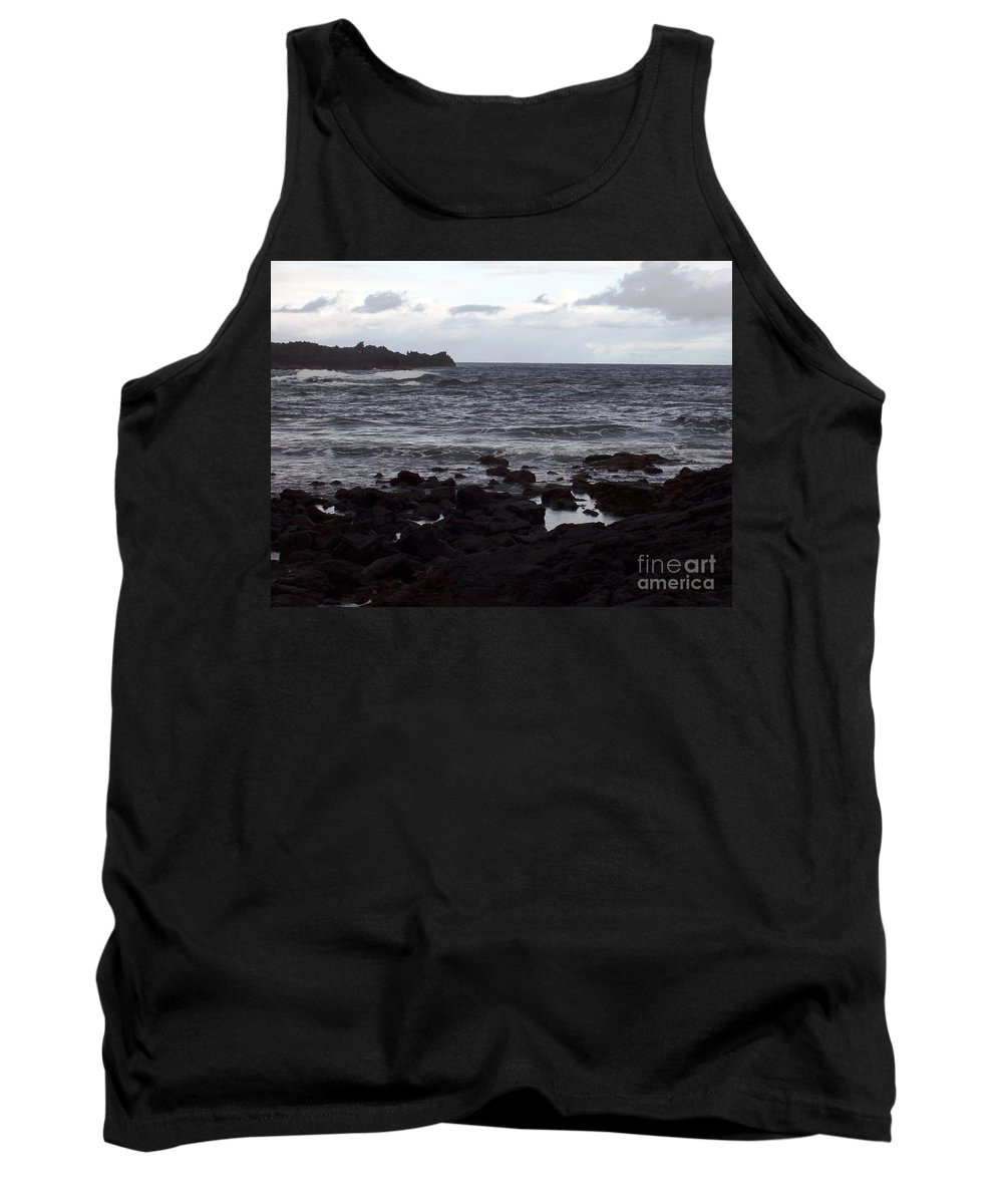 Water Tank Top featuring the photograph Grayscale by Deborah Crew-Johnson