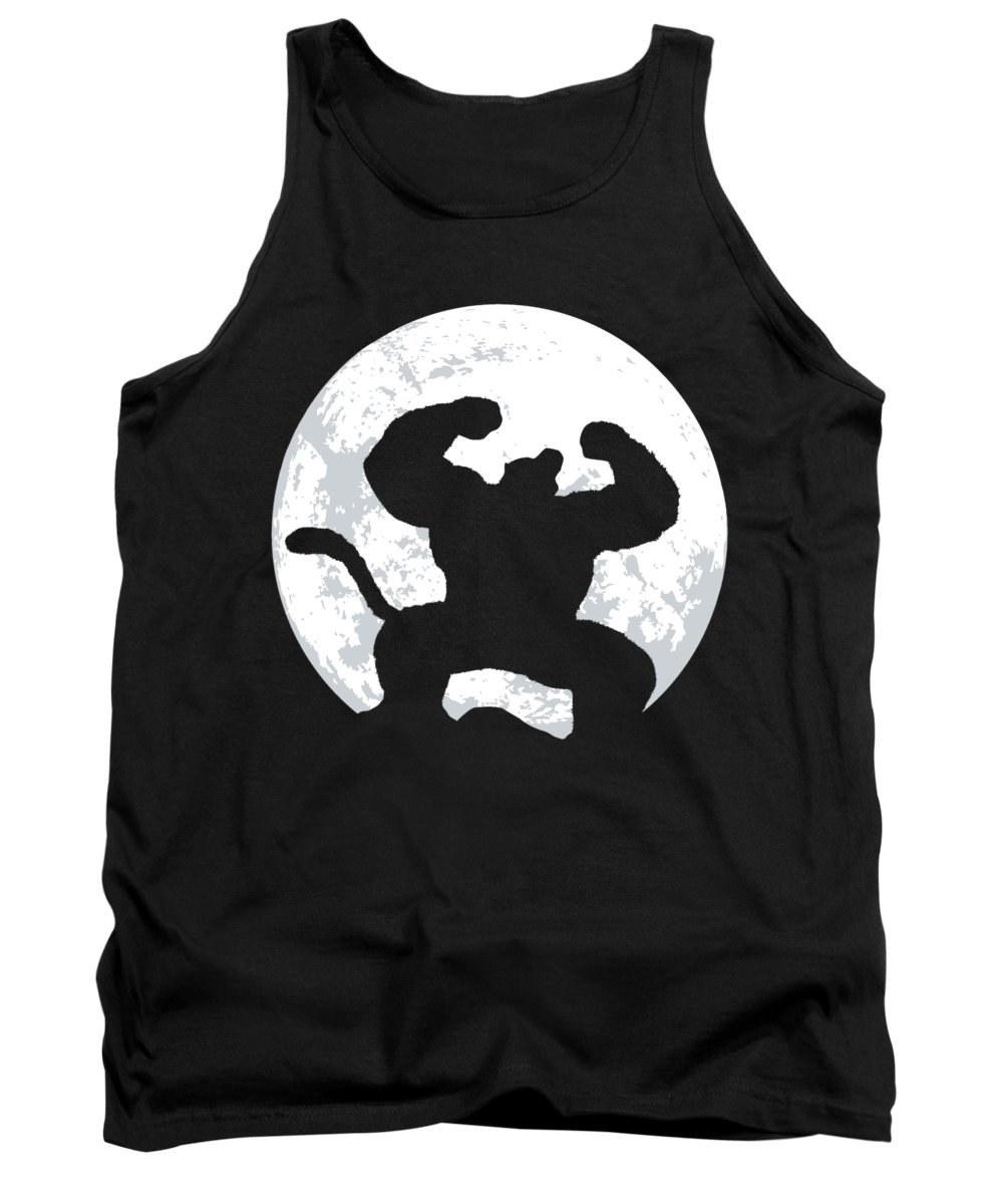 Great Tank Top featuring the digital art Great Ape by Danilo Caro