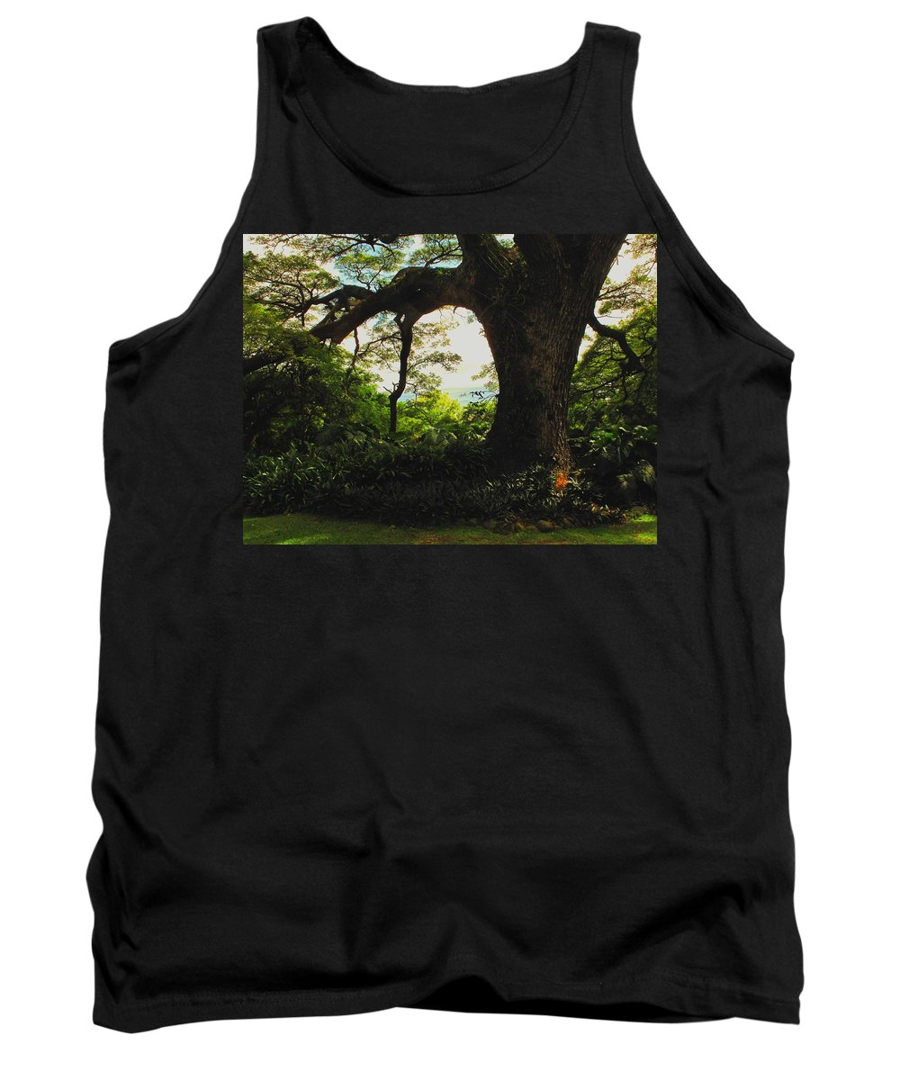 Tropical Tank Top featuring the photograph Green Giant by Ian MacDonald