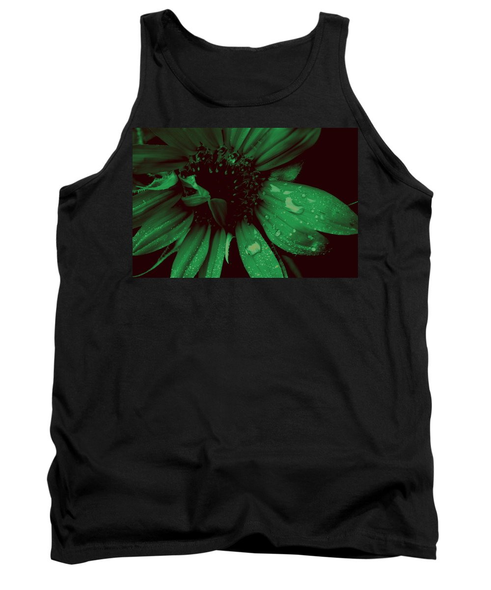Green Tank Top featuring the photograph Green With Envy by Donna Bentley
