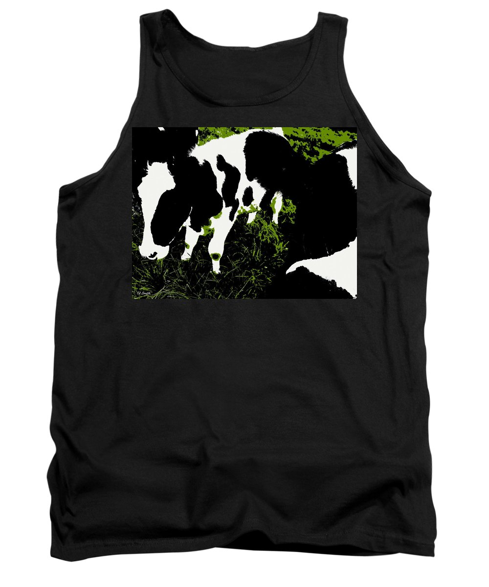 Still Life Tank Top featuring the photograph Greener Pastures by Ed Smith