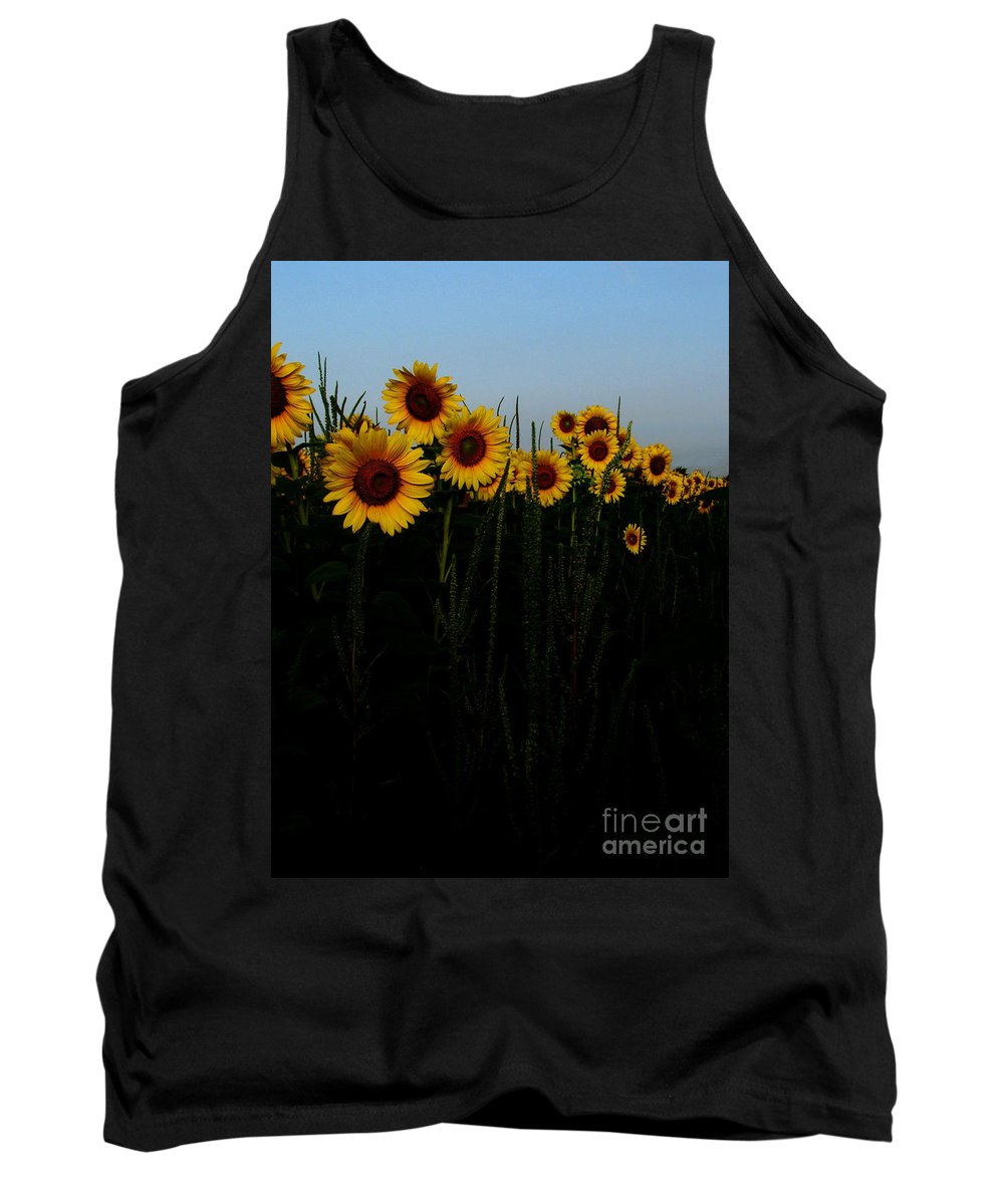 Sunflowers Tank Top featuring the photograph Guide Me by Amanda Barcon