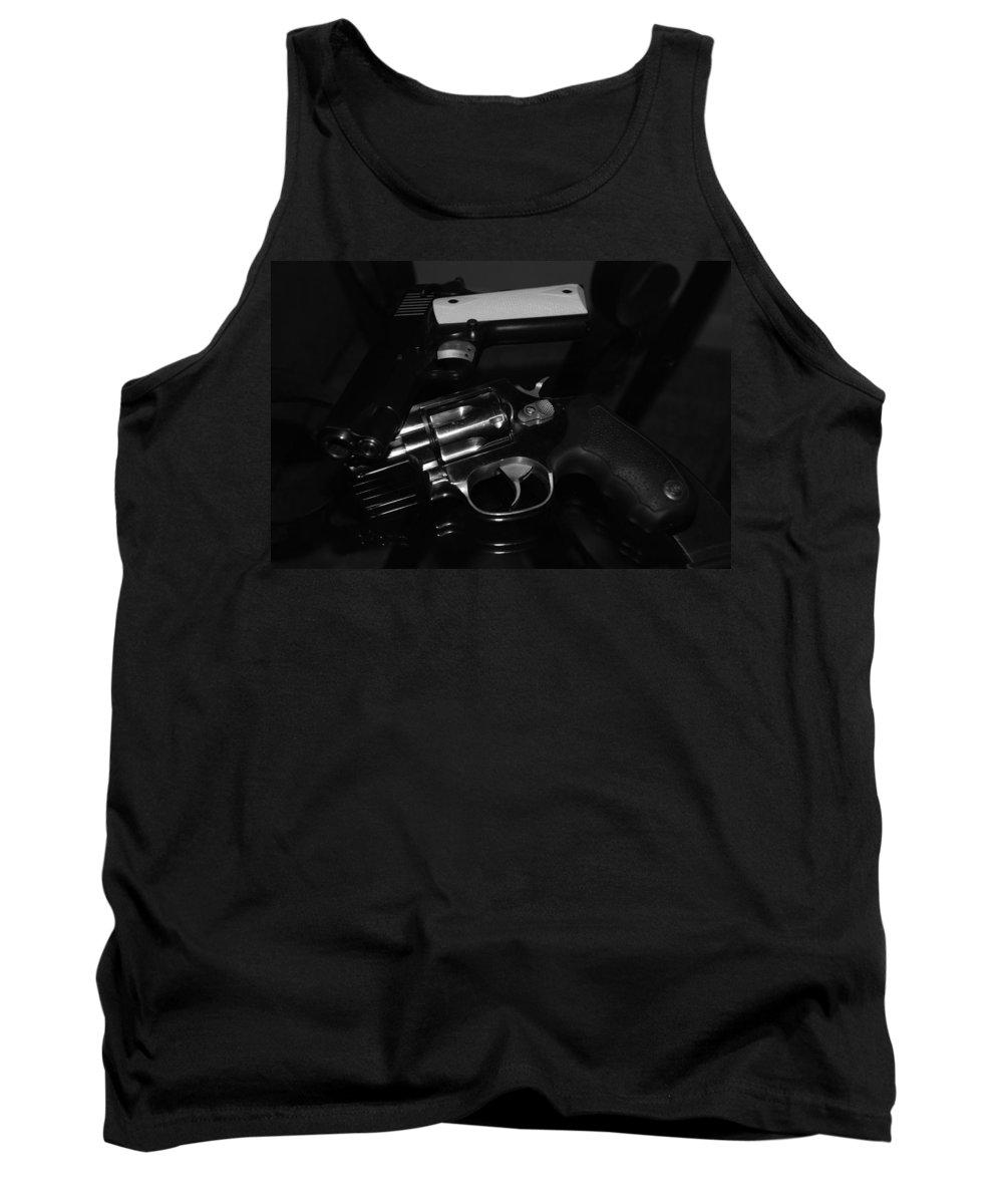 Guns Tank Top featuring the photograph Guns And More Guns by Rob Hans