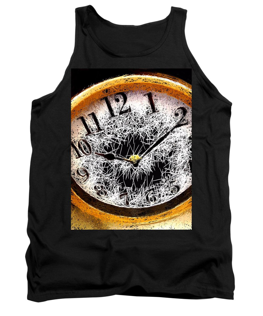 Portrait Tank Top featuring the photograph Hairy Times by Morgan Carter