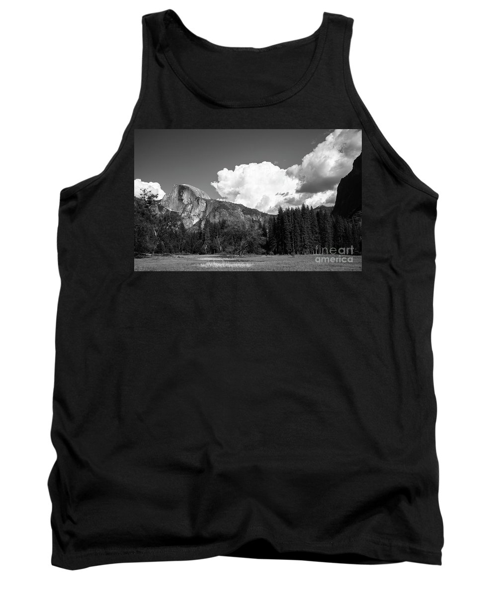 Half-dome Tank Top featuring the photograph Half-dome by Sylvia Sanchez
