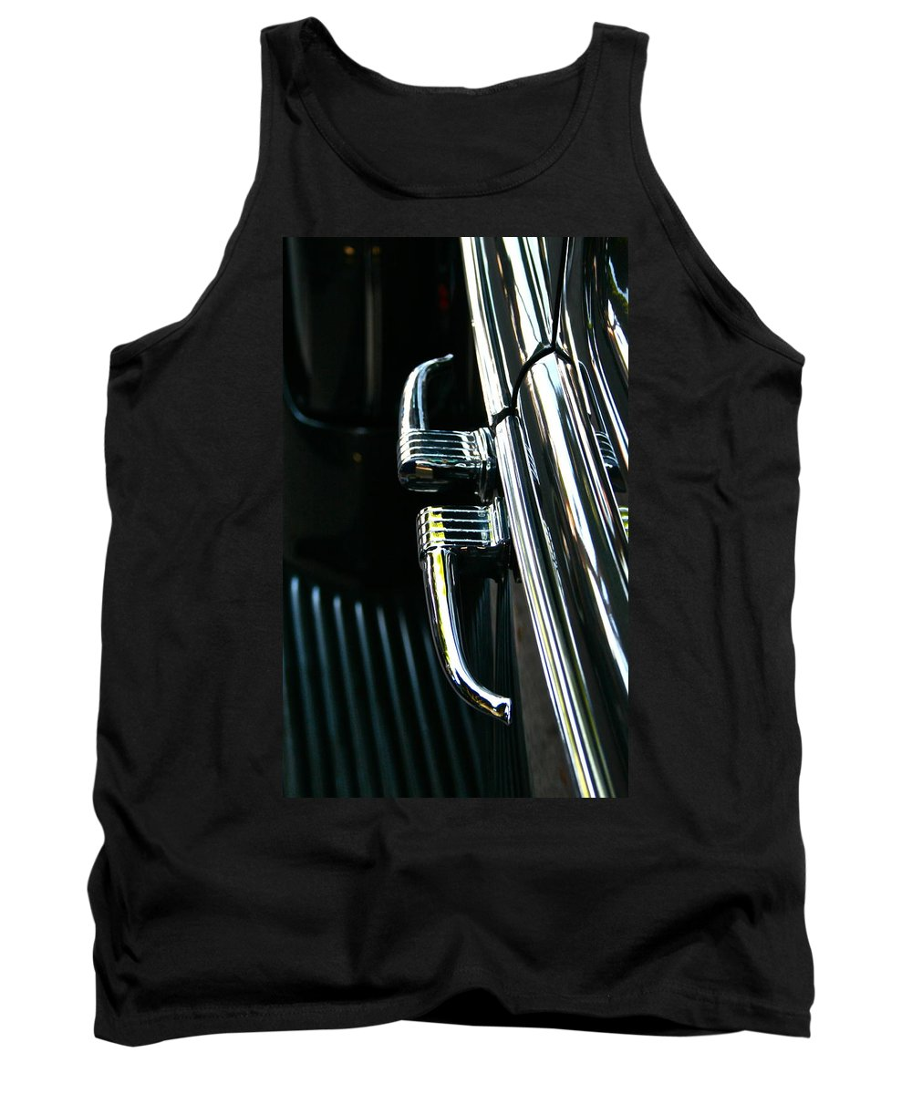 Photograph Tank Top featuring the photograph Handles by Gwyn Newcombe