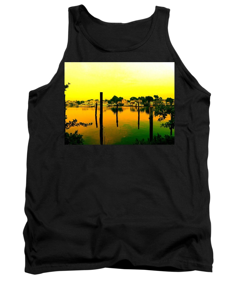 Waterscape Tank Top featuring the photograph Happy Homes by Kendall Eutemey