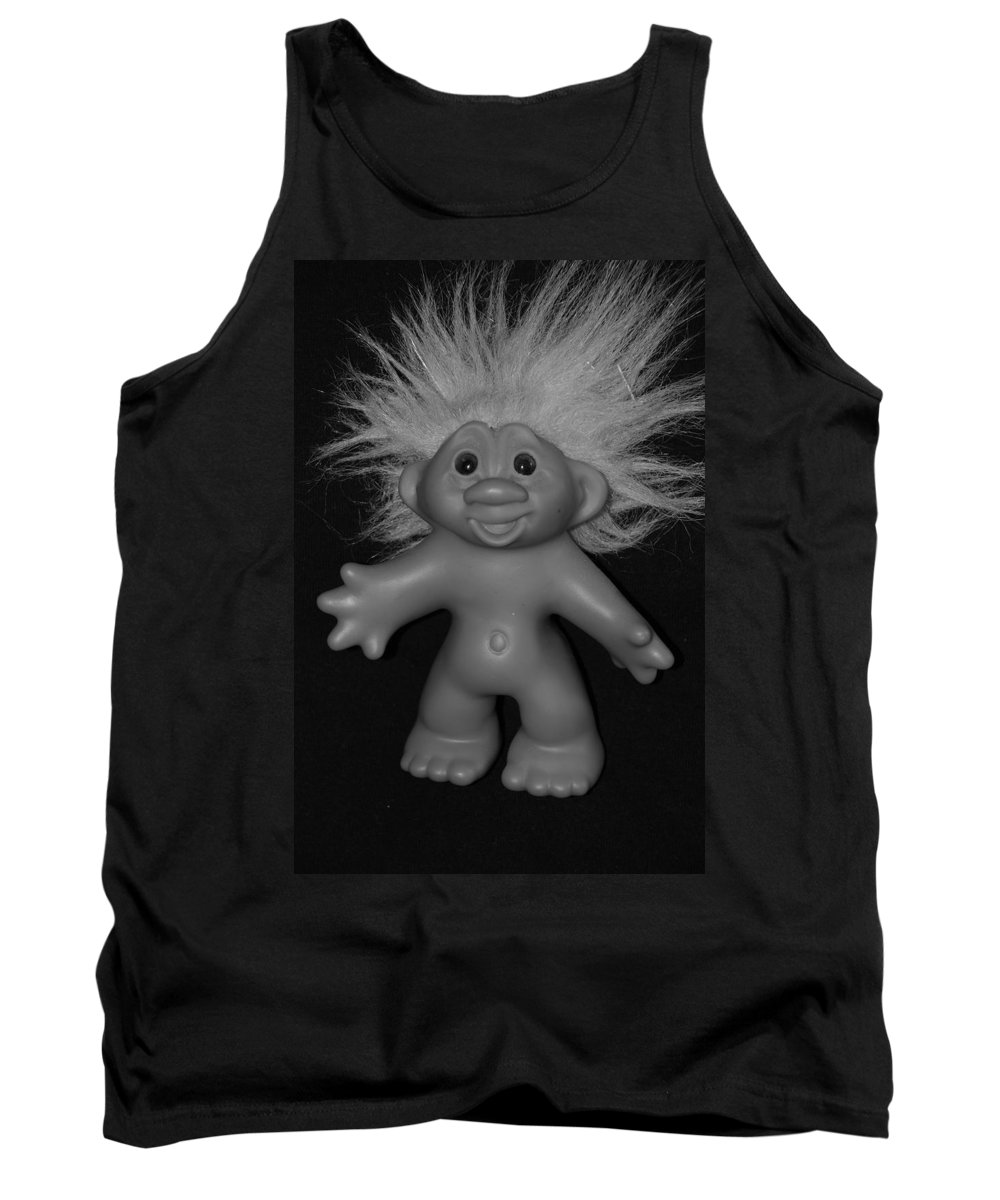 Happy Tank Top featuring the photograph Happy Troll by Rob Hans