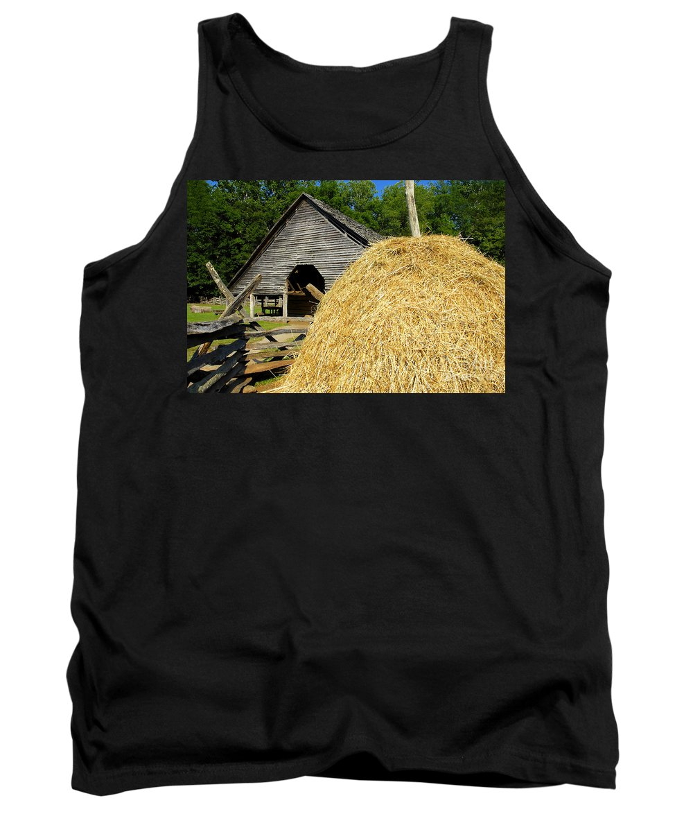 Harvest Tank Top featuring the photograph Harvest by David Lee Thompson