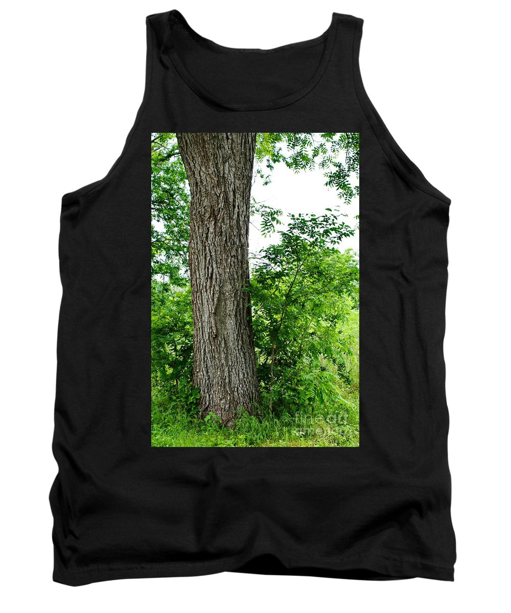 Tree Tank Top featuring the photograph Heaven's Tree - Color Version by Gary Richards