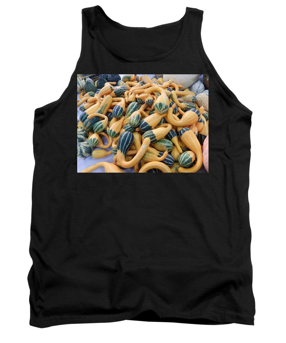Produce Tank Top featuring the photograph Heirlooms On Display #4 by Glen Faxon