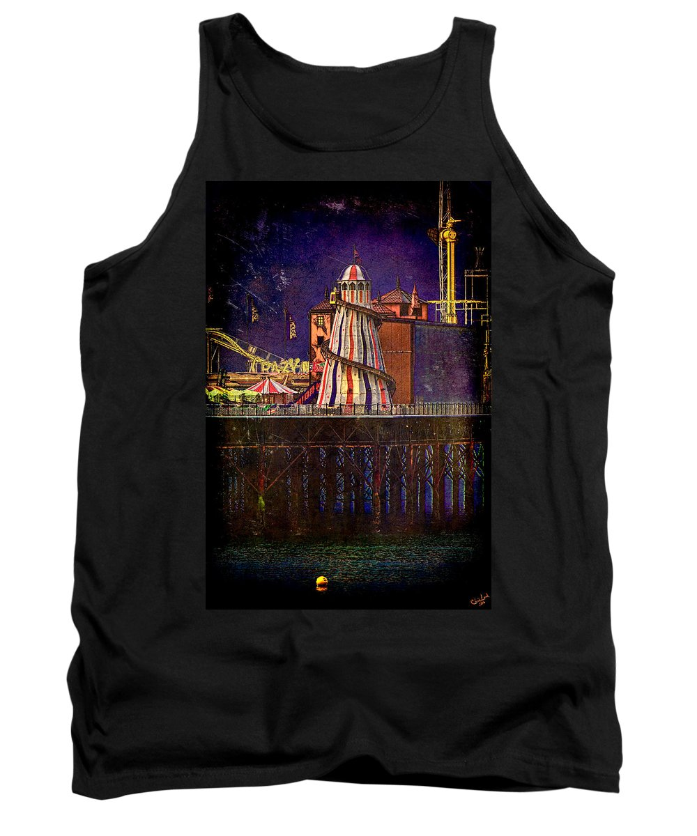 Helter Tank Top featuring the photograph Helter Skelter by Chris Lord