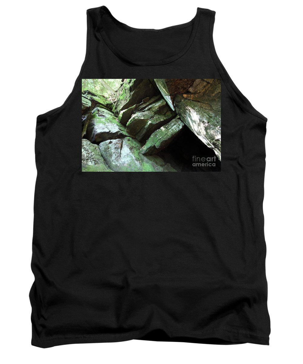Tree Tank Top featuring the photograph Hi Tree by Amanda Barcon