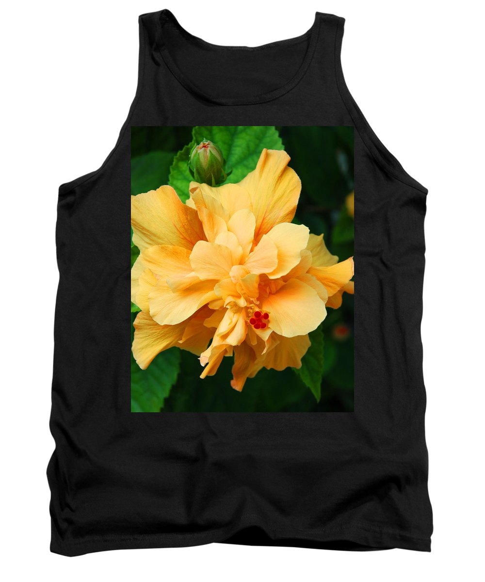 Hibiscus Tank Top featuring the photograph Hibiscus by Susanne Van Hulst