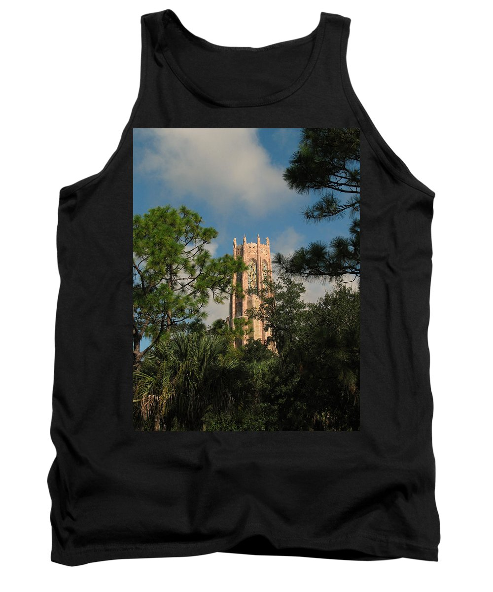 Landscape Tank Top featuring the photograph High Tower by Peg Urban